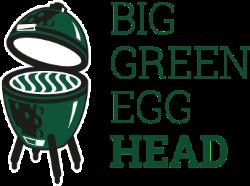 Big Green Egg Head